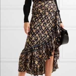 Gorgeous Ulla Johnson hi-low skirt